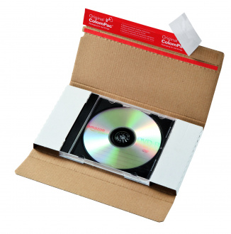 225x125x12 mm CD-Jewelcase Versandbrief
